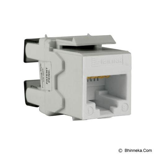 SCHNEIDER ELECTRIC Category 5e UTP Keystone Modular Jack [DCEKYSTUWT] - White - Modular Jack